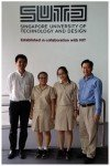Assistant Professor Tony Quek, Chen Jingxuan, Li Chen and Dr Lim Jit Ning, June 2014 - Hwa Chong Institution